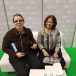 Na zdjęciu Stasia z Hanną Kowalewską