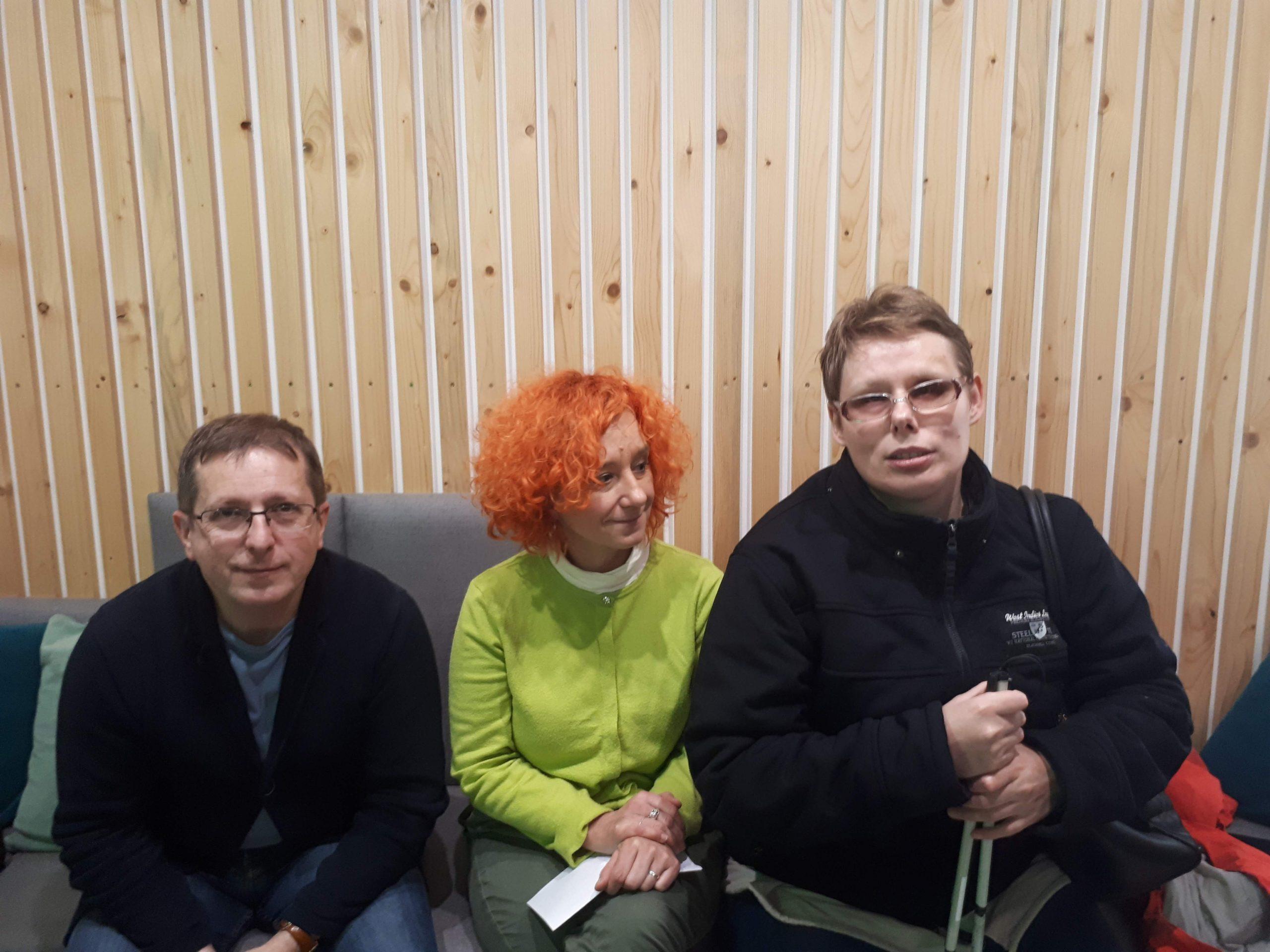 Na zdjęciu Stasia z Dariuszem Kortko i Judytą Watołą