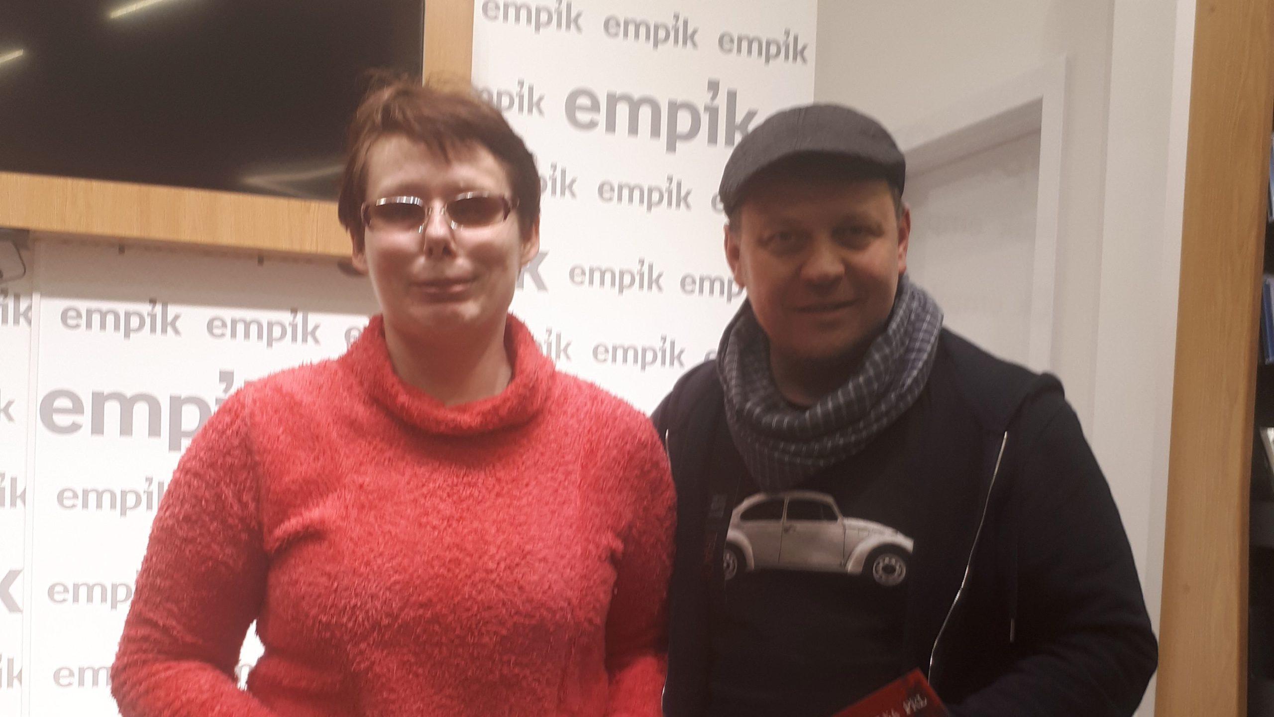 Na zdjęciu Stasia z Przemysławem Semczukiem