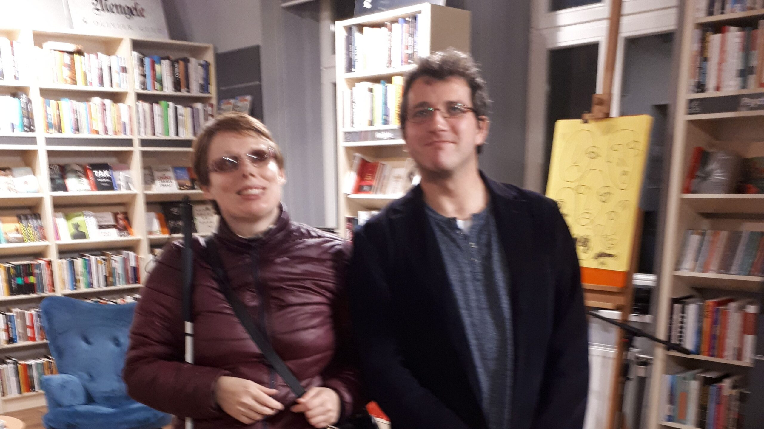 Na zdjęciu Stasia z Michałem Cholewą