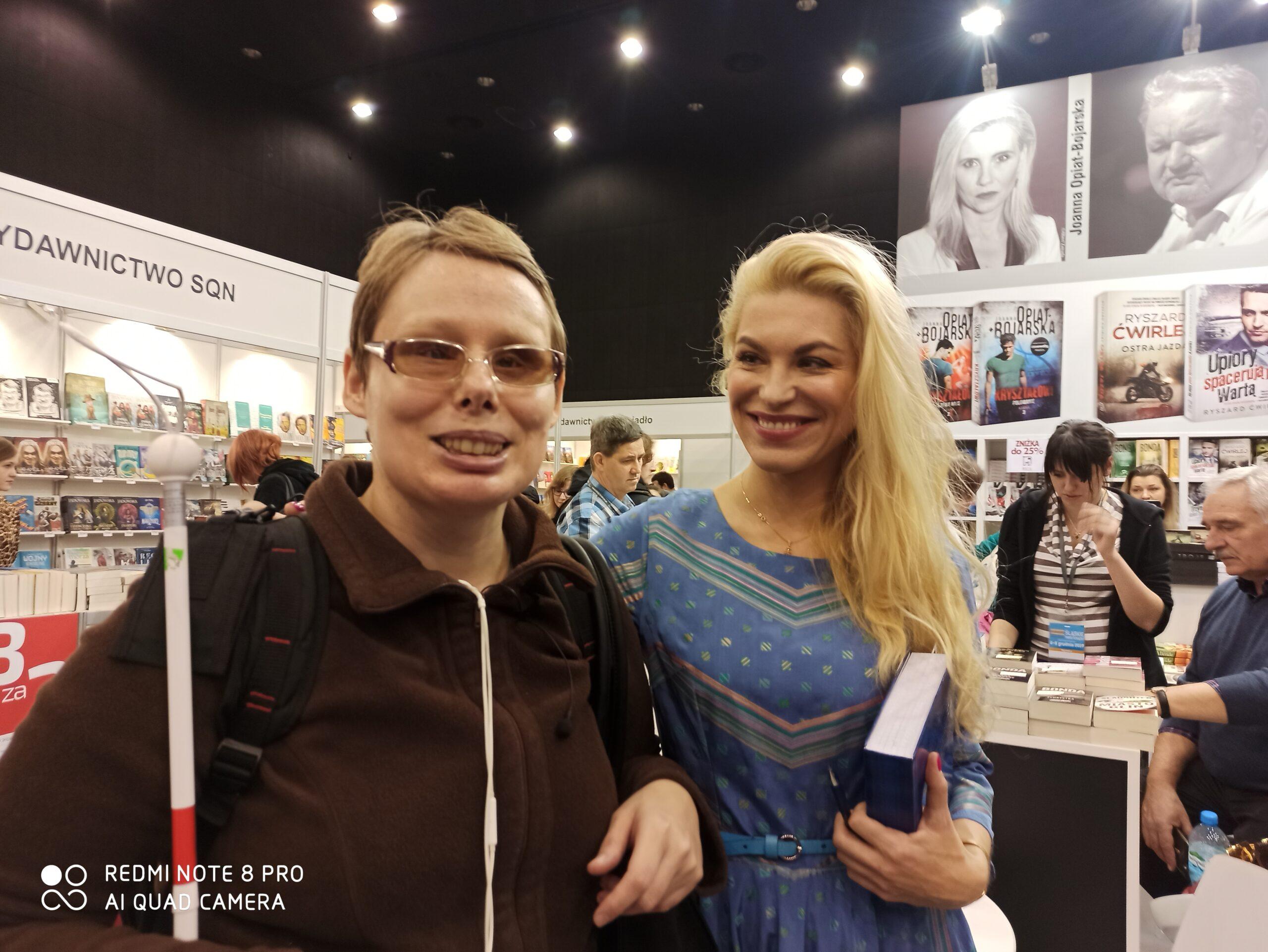 Na zdjęciu Stasia z Katarzyną Bondą